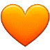 🧡 orange heart Emoji on Samsung Platform
