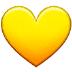 💛 Geel Hart Emoji op Samsung Platform
