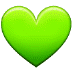 💚 green heart Emoji on Samsung Platform