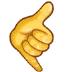 🤙 call me hand Emoji on Samsung Platform