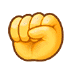 ✊ Raised Fist Emoji on Samsung Platform