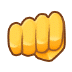 👊 oncoming fist Emoji on Samsung Platform