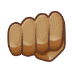 👊🏽 oncoming fist: medium skin tone Emoji on Samsung Platform