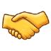 🤝 Handshake Emoji on Samsung Platform