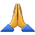 🙏 folded hands Emoji on Samsung Platform