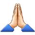 🙏🏻 folded hands: light skin tone Emoji on Samsung Platform