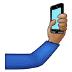 🤳🏽 selfie: medium skin tone Emoji on Samsung Platform