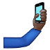 🤳🏿 Dark Skin Tone Selfie Emoji on Samsung Platform
