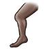 🦵🏿 leg: dark skin tone Emoji on Samsung Platform