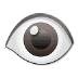 👁️ Ojo Emoji en la plataforma Samsung