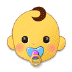 👶 Baby Emoji auf Samsung-Plattform