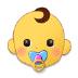 👶 baby Emoji on Samsung Platform