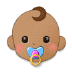 👶🏽 baby: medium skin tone Emoji on Samsung Platform