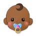 👶🏾 Medium Dark Skin Tone Baby Emoji on Samsung Platform