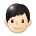 👦🏻 boy: light skin tone Emoji on Samsung Platform