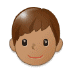 👦🏽 boy: medium skin tone Emoji on Samsung Platform