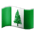 🇳🇫 flag: Norfolk Island Emoji on Samsung Platform