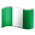 🇳🇬 flag: Nigeria Emoji on Samsung Platform