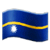 🇳🇷 flag: Nauru Emoji on Samsung Platform