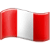 🇵🇪 flag: Peru Emoji on Samsung Platform