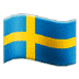 🇸🇪 flag: Sweden Emoji on Samsung Platform