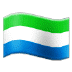 🇸🇱 flag: Sierra Leone Emoji on Samsung Platform