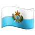 🇸🇲 flag: San Marino Emoji on Samsung Platform