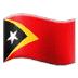 🇹🇱 flag: Timor-Leste Emoji on Samsung Platform