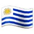 🇺🇾 flag: Uruguay Emoji on Samsung Platform