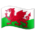 🏴󠁧󠁢󠁷󠁬󠁳󠁿 flag: Wales Emoji on Samsung Platform