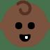 👶🏿 Dark Skin Tone Baby Emoji on Twitter Platform