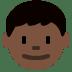 👦🏿 boy: dark skin tone Emoji on Twitter Platform