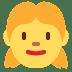 👧 girl Emoji on Twitter Platform