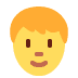 🧑 person Emoji on Twitter Platform