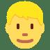 👱♂️ Blond Hair Man Emoji on Twitter Platform