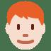 👨🏻🦰 man: light skin tone, red hair Emoji on Twitter Platform