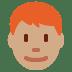 👨🏽🦰 man: medium skin tone, red hair Emoji on Twitter Platform