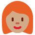 👩🏽🦰 woman: medium skin tone, red hair Emoji on Twitter Platform