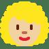 👩🏼🦱 woman: medium-light skin tone, curly hair Emoji on Twitter Platform