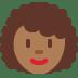 👩🏾🦱 Medium Dark Skin Tone Curly Hair Woman Emoji on Twitter Platform