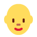 👩🦲 woman: bald Emoji on Twitter Platform