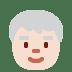 🧓🏻 older person: light skin tone Emoji on Twitter Platform