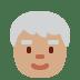 🧓🏽 older person: medium skin tone Emoji on Twitter Platform