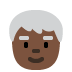 🧓🏿 Dark Skin Tone Older Person Emoji on Twitter Platform