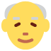 👴 Old Man Emoji on Twitter Platform