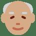 👴🏽 old man: medium skin tone Emoji on Twitter Platform
