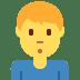 🙎♂️ man pouting Emoji on Twitter Platform