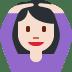 🙆🏻 person gesturing OK: light skin tone Emoji on Twitter Platform