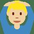 🙆🏼♂️ Medium Light Skin Tone Man Gesturing Ok Emoji on Twitter Platform