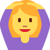 🙆♀️ woman gesturing OK Emoji on Twitter Platform